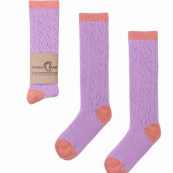 Skarpetki dla dziewczynki fioletowe