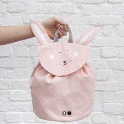 Trixie Baby Mrs. Rabbit Plecaczek dla dziecka (100% bawełna z wodoodporną powłoką)