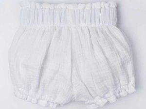 By Royal Baby Muślinowe Spodenki dla dziewczynki  0-6 m