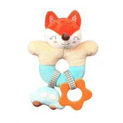 Babyono Grzechotka dla niemowląt Fox Vincent