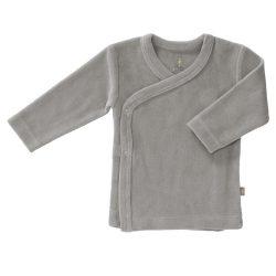 Fresk Bluzeczka Eko kardigan niemowlęcy welur Paloma Grey