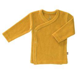Fresk bluzeczka kardigan niemowlęcy welur mimosa yellow