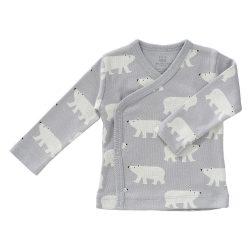 Fresk Bluzeczka Eko kardigan niemowlęcy Miś Polarny