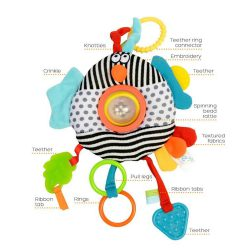 Dolce Zabawka sensoryczna dla niemowląt Ptaszek