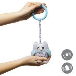Babyono Zabawka z pozytywką dla niemowląt Owl Sophia