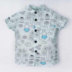 By Royal Baby Koszula dla chłopca w zajączki