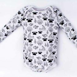 By Royal Baby Body niemowlęce Podwodny świat 0-3 m