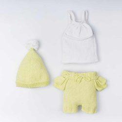 By Royal Baby Handmade Komplet niemowlęcy z naturalnej bawełny Pistachio