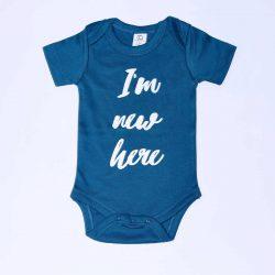 Urban Baby Co. Body dziecięce z bawełny organicznej I'm new here 3-6 m