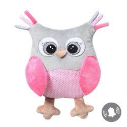 Babyono Przytulanka dla niemowląt Owl Sophia