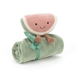 JellyCat Amuse Arbuz Szmatka Przytulanka dla niemowląt 34cm
