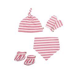 Baby Bites Zestaw dla noworodka Sailor Pink  0-3 m