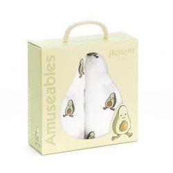 JellyCat Pieluszki muślinowe dla niemowląt zestaw 2szt. 70*70 cm