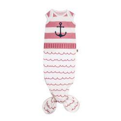 Baby Bites Śpioszki Baby Gown Sailor Pink 0-3 m