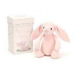 JellyCat Przytulanka dla niemowląt Mój pierwszy Króliczek 19 cm