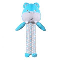 Babyono Piszczek dla niemowląt Hippo Marcel Forest Crew