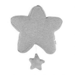 Trixie Baby Grain Grey Gwiazdka Pozytywka dla niemowląt