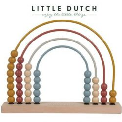 Little Dutch Zabawka drewniana dla dziecka Pure & Nature Liczydło