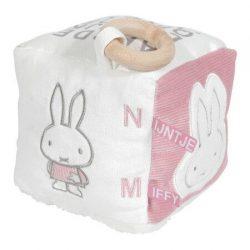 Tiamo Miffy Pink Babyrib Kostka sensoryczna dla niemowląt