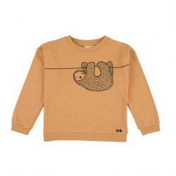 Trixie Baby Silly Sloth Bluza dla dziecka Certyfikat GOTS