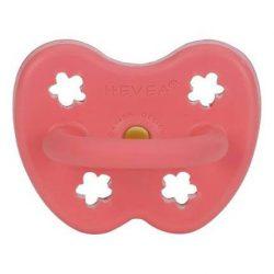 Hevea Anatomiczny smoczek kauczukowy dla niemowląt 3-36 msc Coral