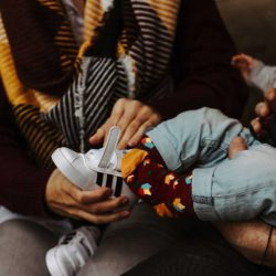 Faves Skarpetki niemowlęce Holandia Tulipany