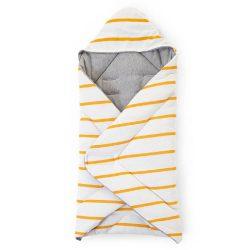 Childhome Otulacz Rożek dla niemowląt 75 x 75 cm Jersey Ochre Stripes