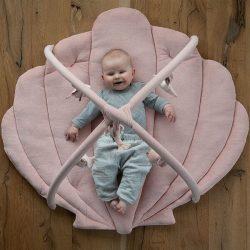Little Dutch Mata edukacyjna sensoryczna dla niemowląt Ocean Róż