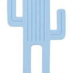 Minikoioi Gryzak silikonowy dla niemowląt Niebieski Kaktus