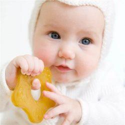 Natursutten Gryzak dla niemowląt z kauczuku naturalnego Rozgwiazda
