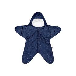 Baby Bites Zimowy Kombinezon dla niemowląt Star Navy Blue 3-6m