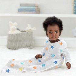 Aden+Anais Śpiworek dziecięcy Color Pop Stars