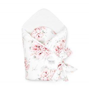 Qbana Mama Rożek Becik niemowlęcy In Blossom