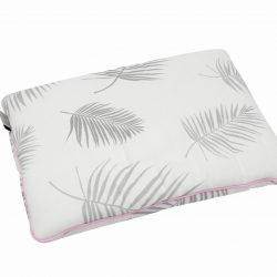 Tiny Star Poduszka Bambusowa Palms & Pink Line