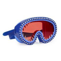 Bling2O Maska do pływania Rekin czerwone soczewki