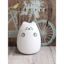 Rabbit&Friends Lampka dla niemowląt Kot Szczęściarz
