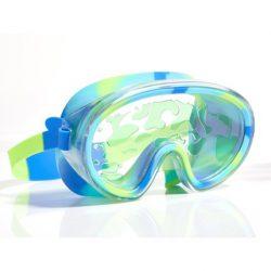 Bling2O Maska do pływania Lawa limonkowa