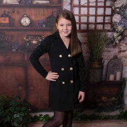 Bloom unikatowa żakietowa sukienka marynarka dla dziewczynki