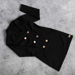 Bloom żakietowa czarna sukienka marynarka dla Mamy