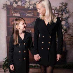 Chica komplet mama córka sukienka marynarka