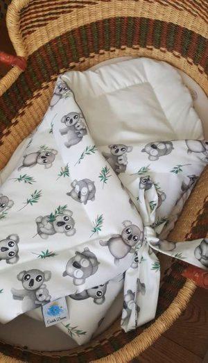 Cuddle Dreams Rożek otulacz niemowlęcy Koala