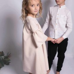 Elegancki komplet dla chłopca na uroczystości chrzest roczek