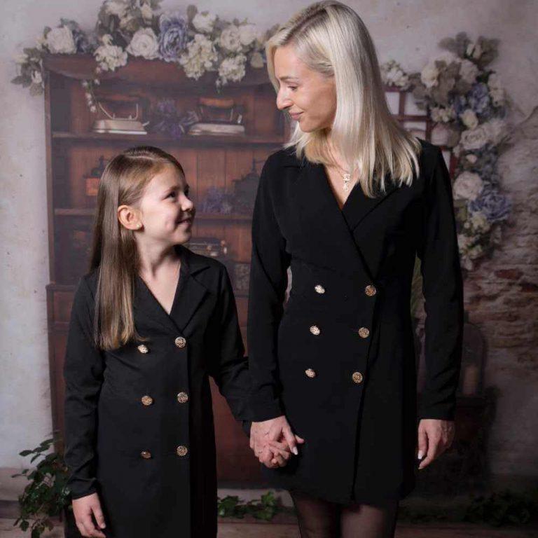 Moda rodzinna – ubrania dla mamy i córki