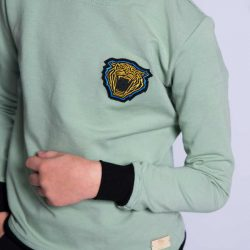 Sportowa bawełniana bluza chłopięca