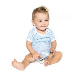 Ah Goo Baby bawełniane body z krótkim rękawem na prezent jeżyna