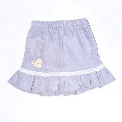 Szara spódniczka dla dziewczynki retro vintage