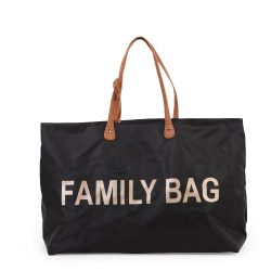 Childhome Torba do wózka Family Bag Czarna wyprawka