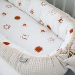 Tiny Star Gniazdko Kokon niemowlęcy Sunshine & Beige