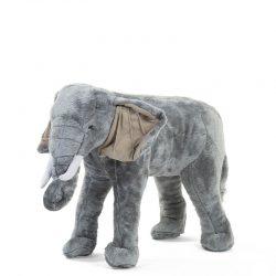 Childhome Pluszowy Słoń stojący do pokoju dziecka maskotka 60 cm