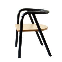 Charlie Crane Krzesełko dziecięce Hito Black